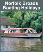 Norfolk Broads Boating Holidays