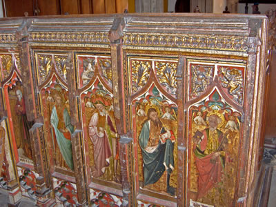 Aylsham Church Rood Screen