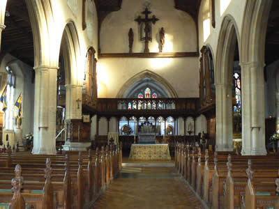 Blakeney Church Inside