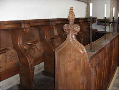 Blakeney Church Choir Stalls