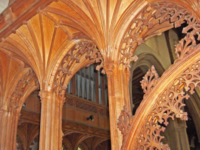 Blakeney Church Woodwork