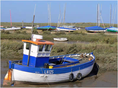 Brancaster Fishing Boats