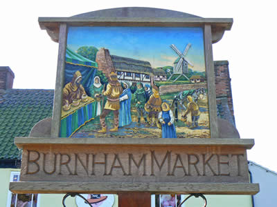 Burnham Market Sign