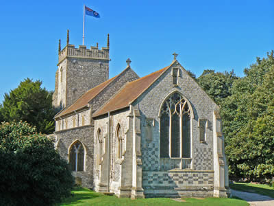 Burnham Thorpe Church