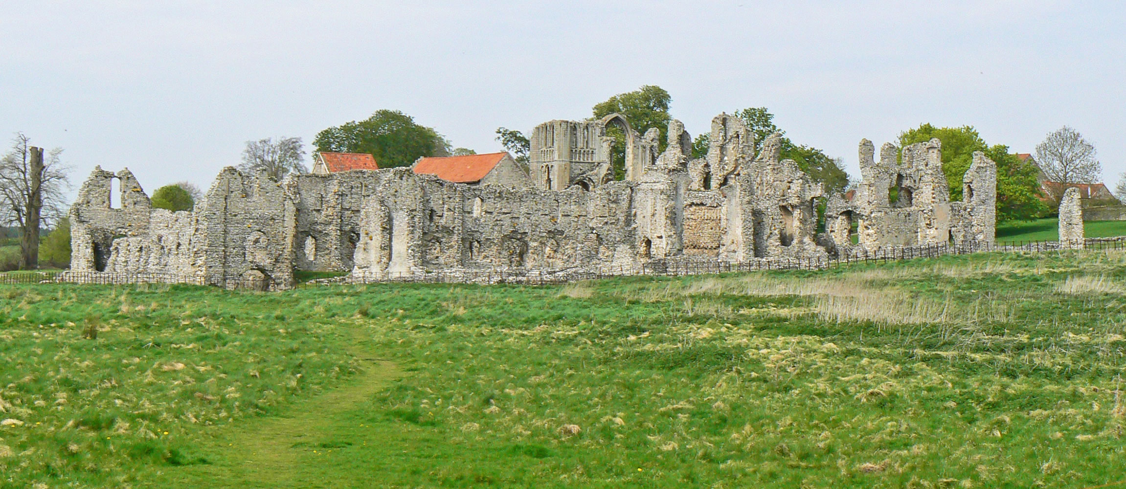 Castle Acre Norfolk Including Castle Priory Peddars Way And