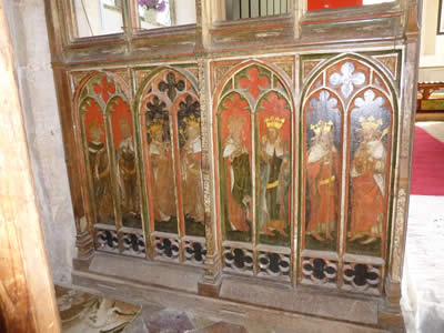 Painted Rood Screen