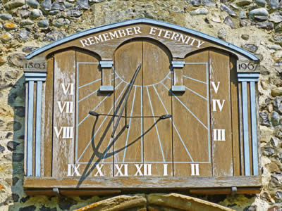 Church Sundial