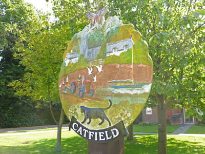 Catfield Village Sign