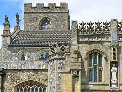 Cley Church Detail