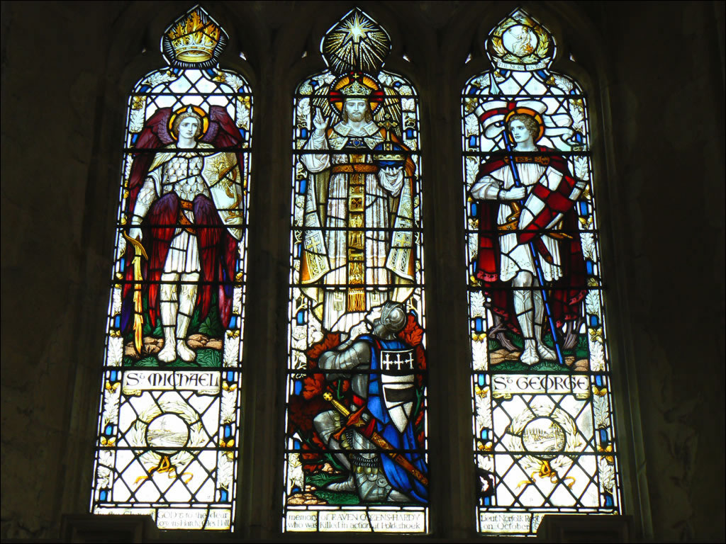 Aylsham Church Stained Glass Window Cley