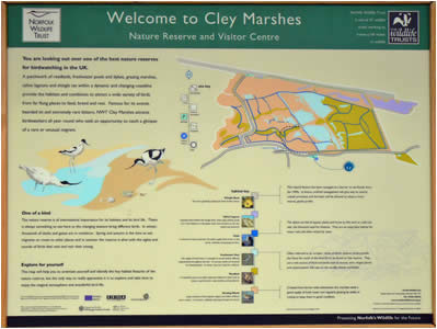 Cley Marsh Map