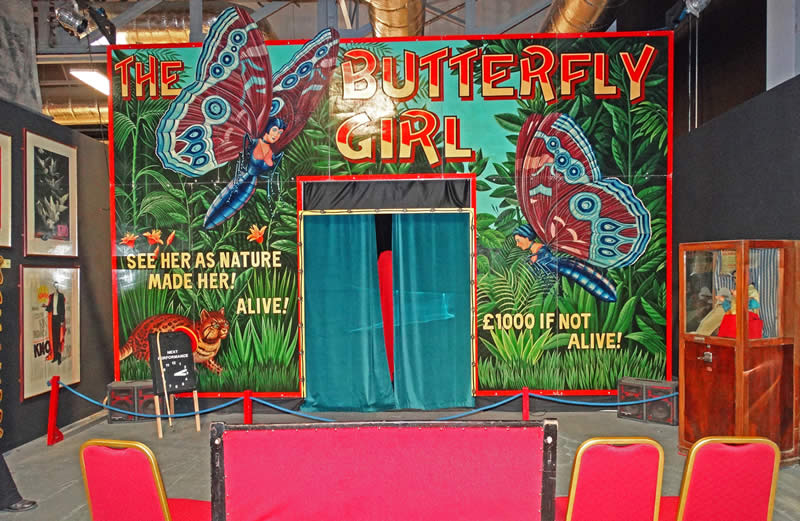 Butterfly Girl Sideshow