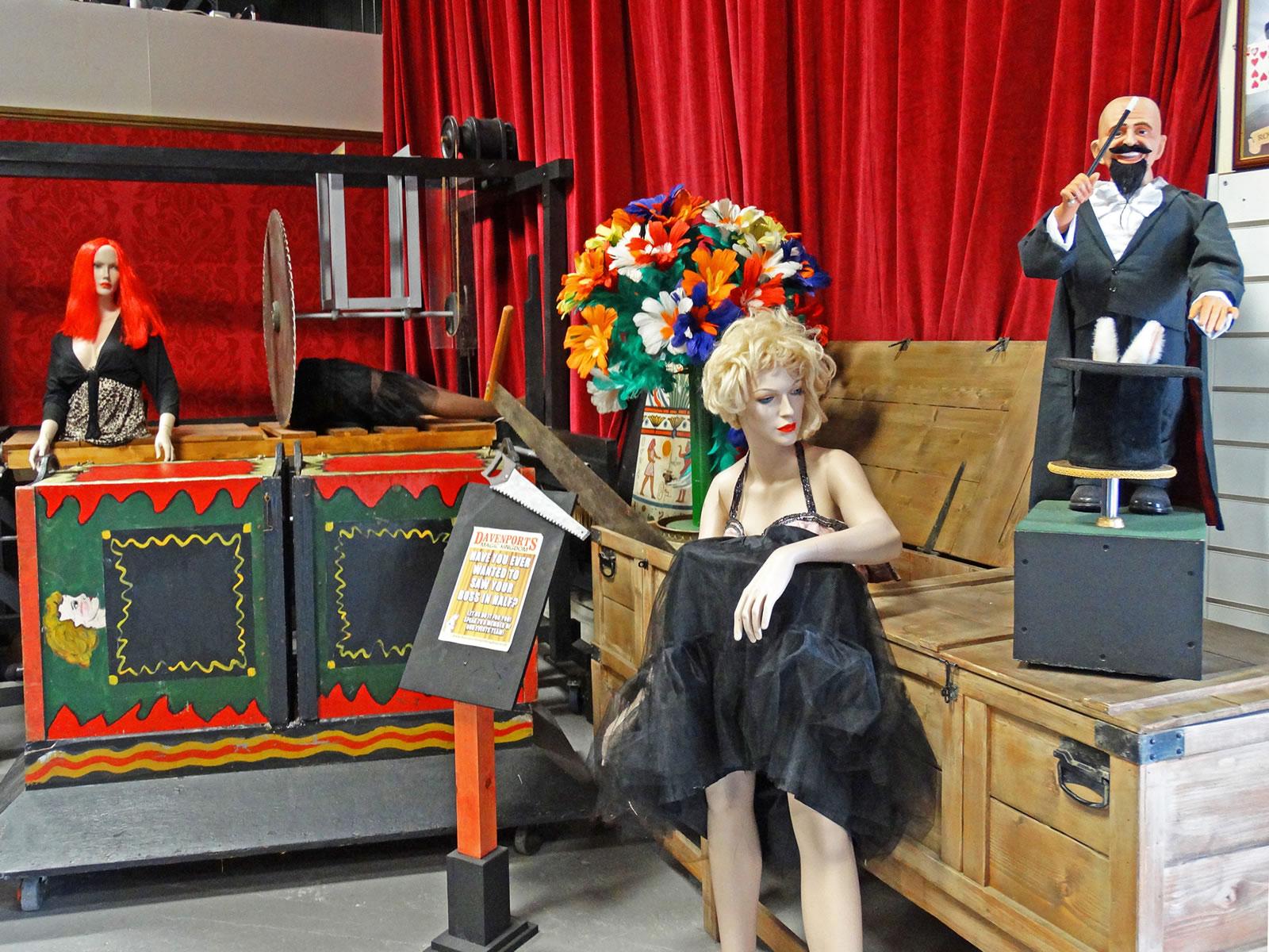 Davenports Magic Kingdom Including Magic Museum Shop And
