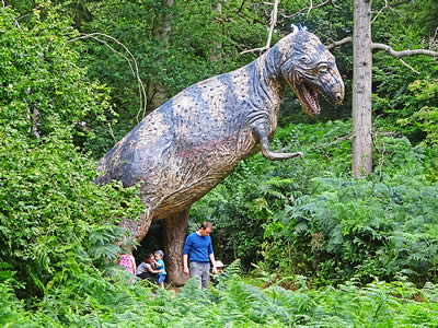 The Annual Dinos At Night Event Was Also Voted For By Public In Days Out With Kids Family Favourite Awards As Best An Attraction