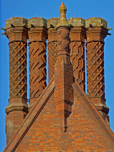 Dunston Hall Chimneys