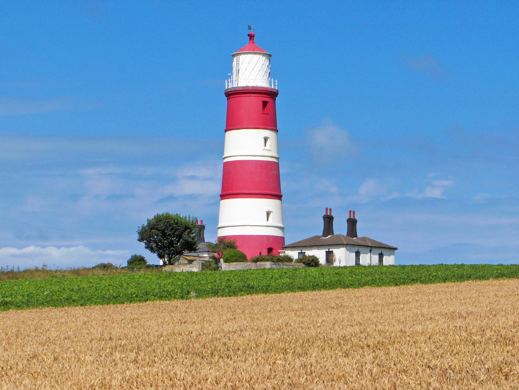 Norfolk Lighthouse and Piers, including Happisburgh, Cromer ...