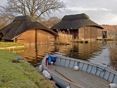 Thatched Boathouses