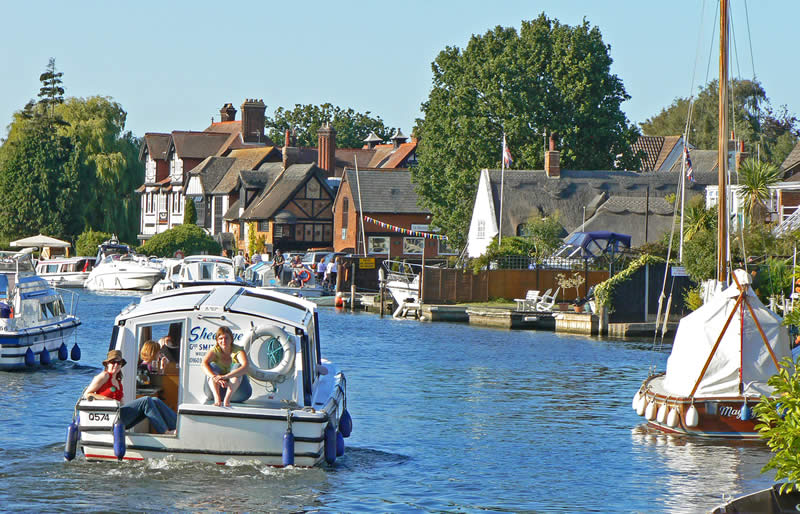 River Bure at Horning