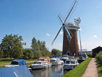 Norfolk Broads Windpump