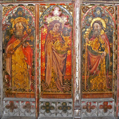 Church Rood Screen