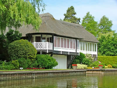 Waterside home