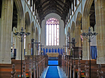 Loddon Church Inside