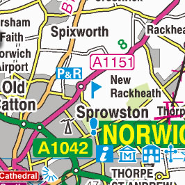 Map Of England Norfolk.Norfolk Map
