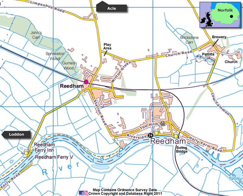 Reedham Map