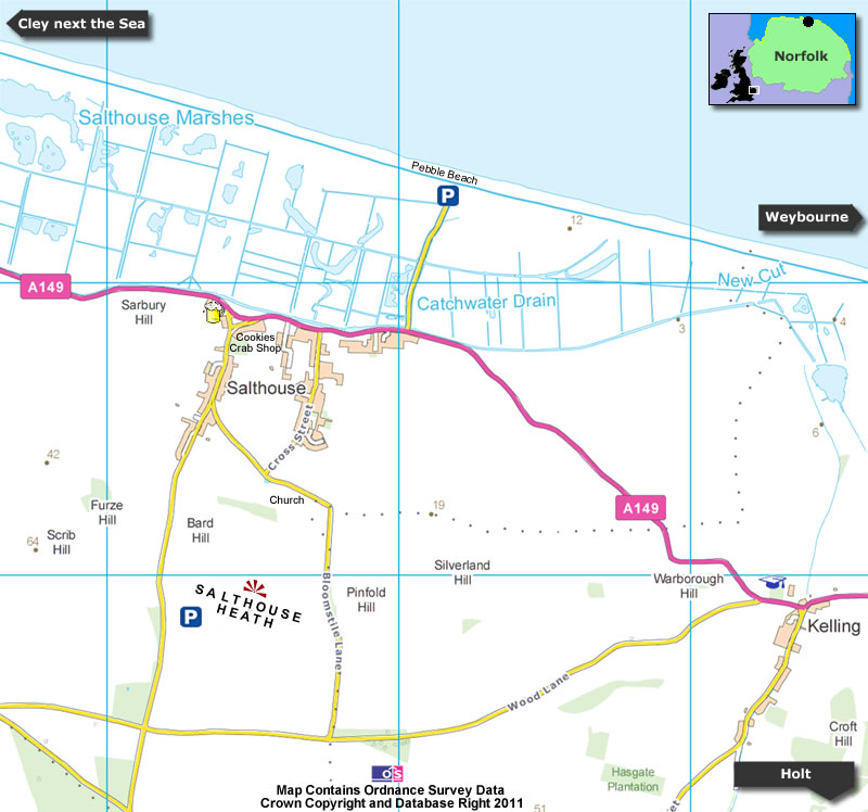 Salthouse Map