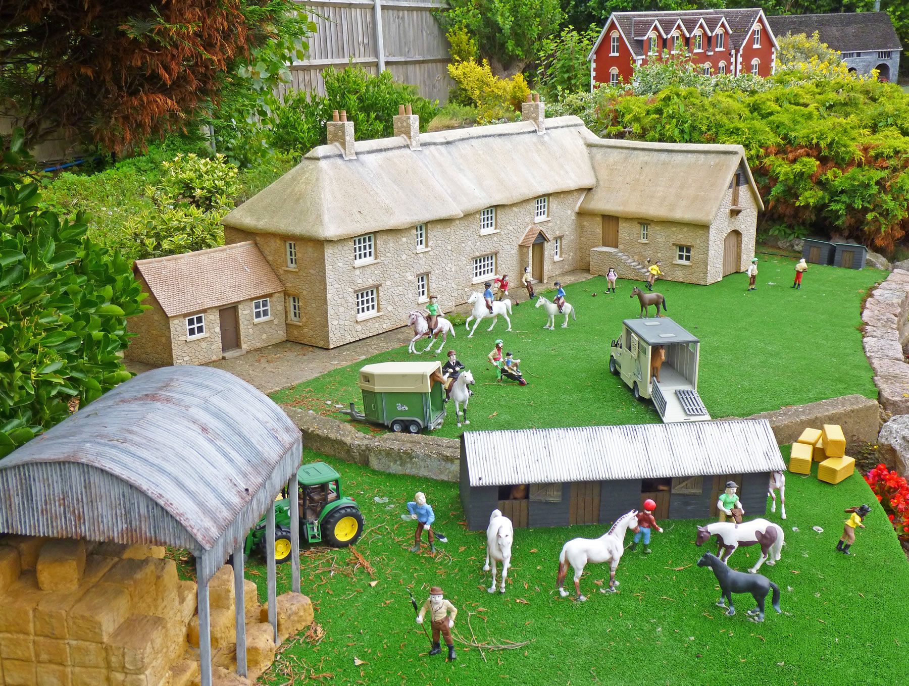 Merrivale model village in great yarmouth for Farm house model