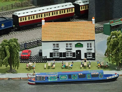 Model Canalside Pub