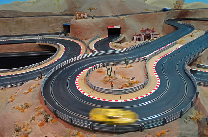 Scalextric Layout
