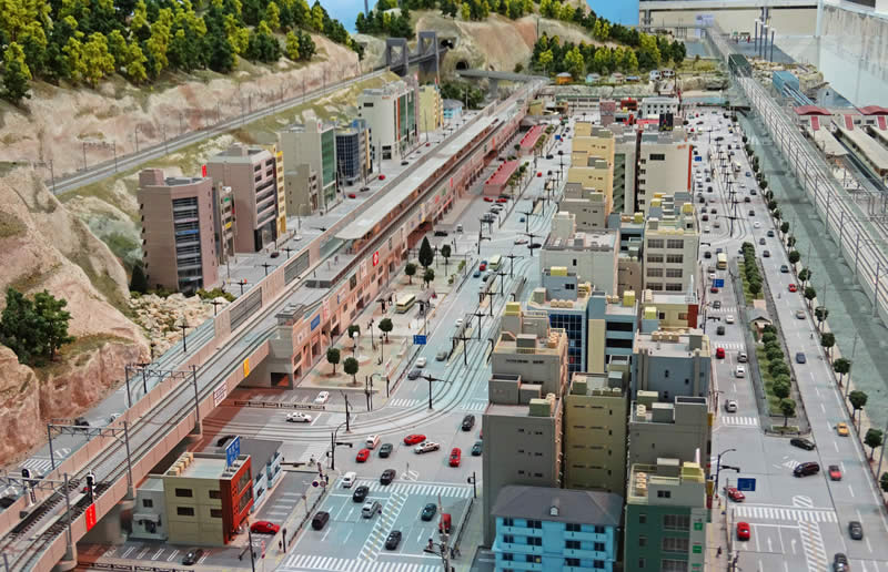 Japanese N Scale Layout