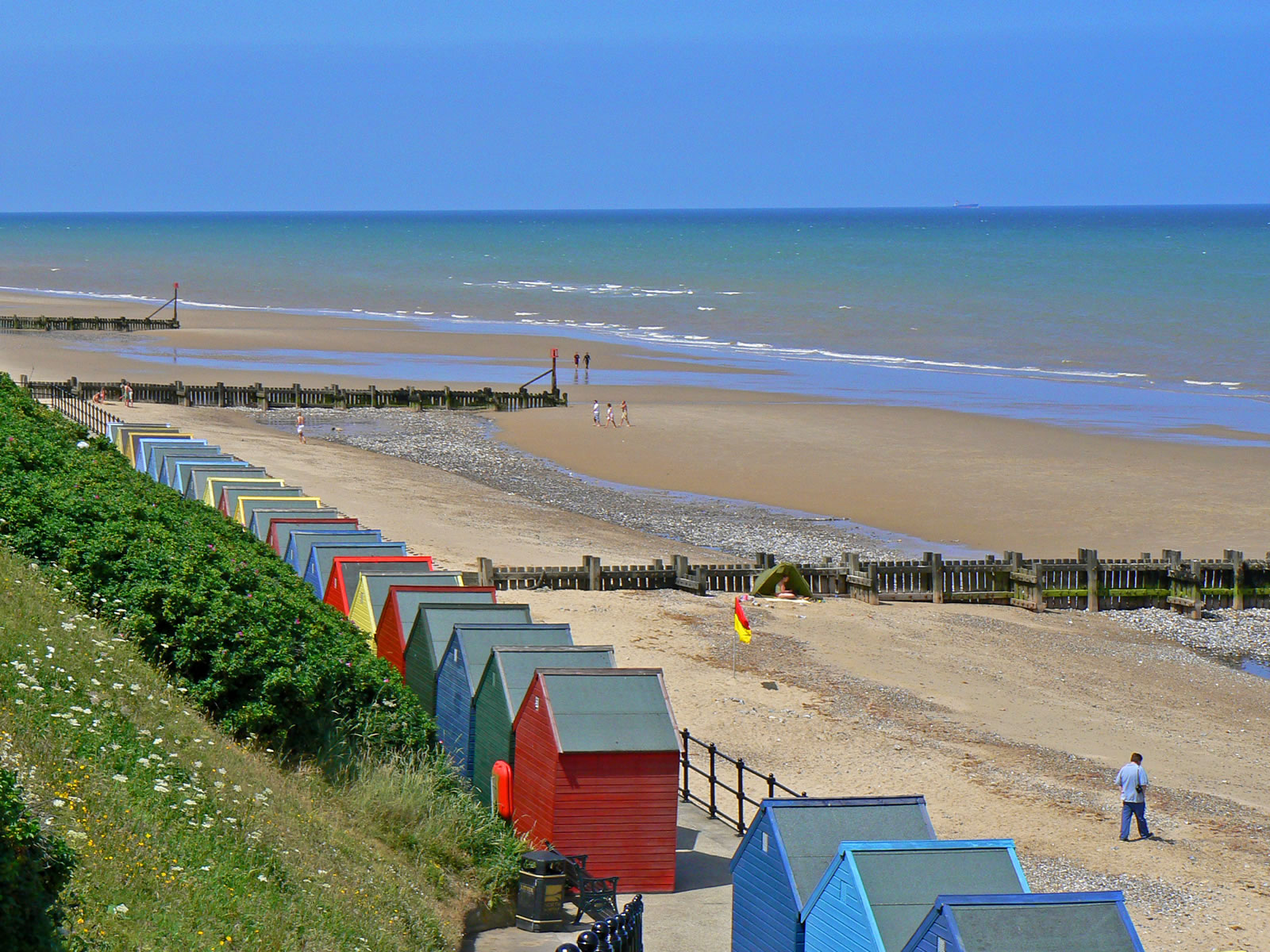 Image Mundesley Beach Wallpaper