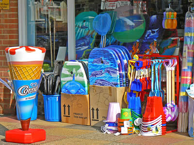 Bucket and Spade Shop