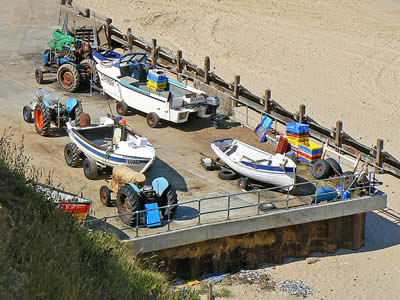 Mundesley Fishing Boats