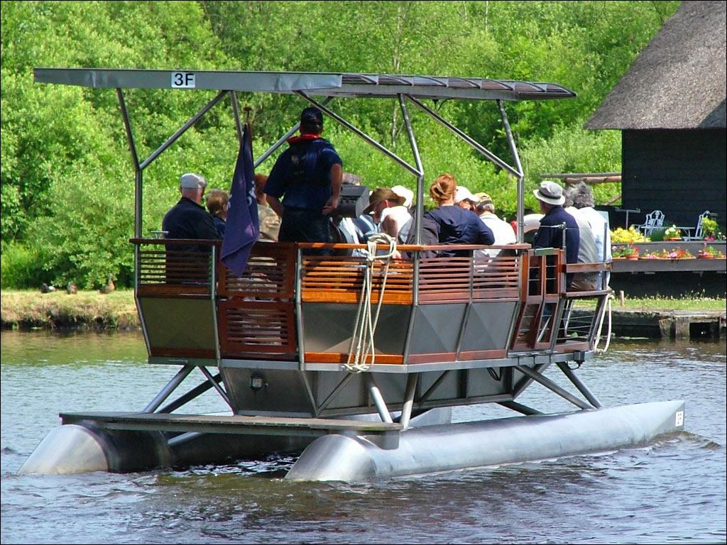 John Markes Electric Powered Kayak Plans