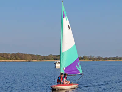 Topper Sailing