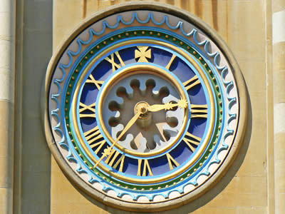 Norwich Cathedral Clock