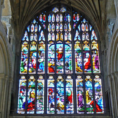 Norwich Cathedral Window