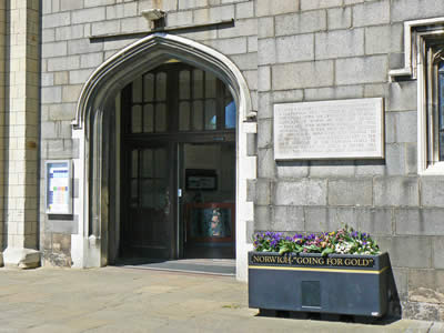 Norwich Castle Entrance
