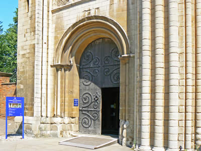 Norwich Cathedral Door