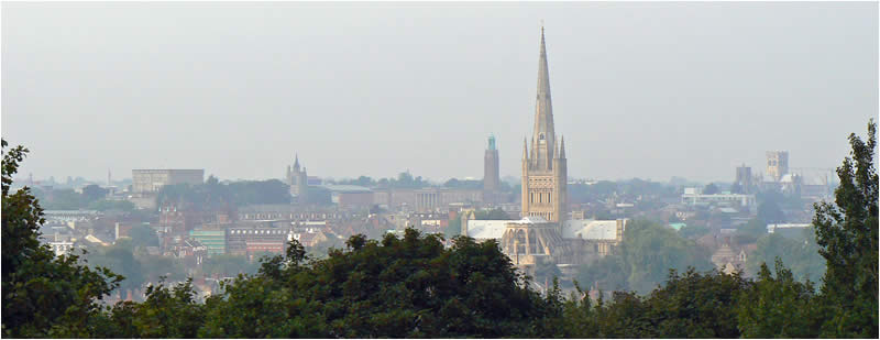 Norwich City View