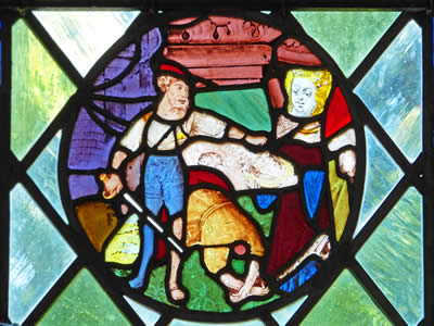 Oxburgh Stained Glass