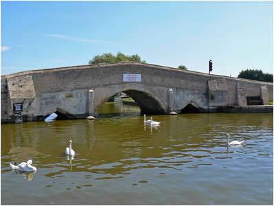 Norfolk Broads Bridge