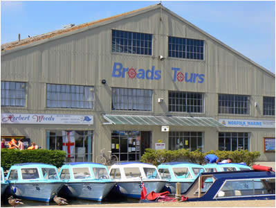 Broads Tours Shed