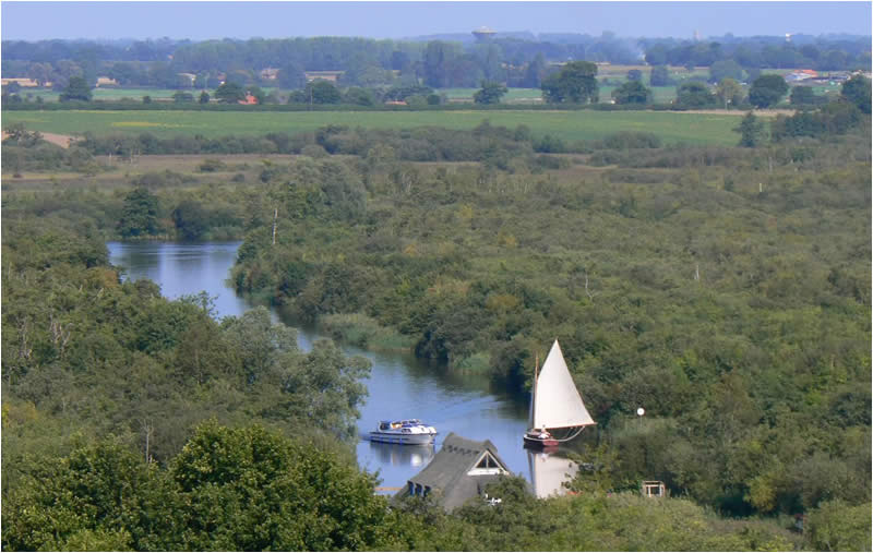 Norfolk Broads View