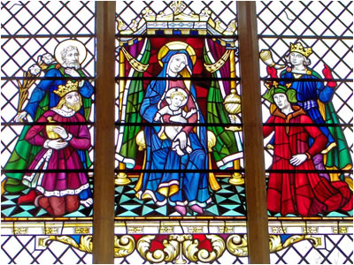 Ranworth Stained Glass