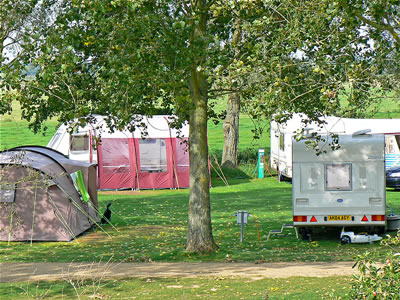 Campsite at Reedham Ferry