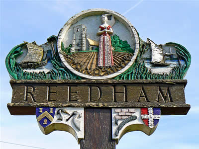 Reedham Sign
